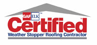Certified Weather Stopper Roofing Contractor